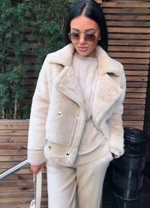 Куртка меховая дубленка косуха.