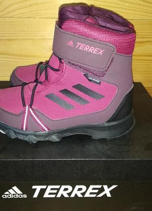 Зимние ботинки adidas performance terrex snow us 12, 5, европейский 30