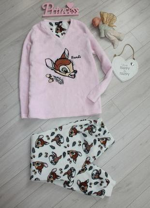 Пижама плюшевая разм м disney2 фото