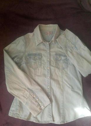 Рубашка джинсовая фирмы be beau