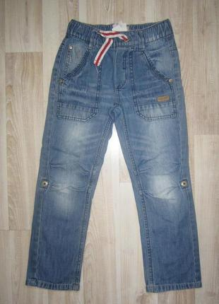 Джинсы штаны пояс на резинке
