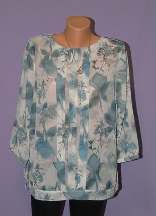 Шифоновая блузочка 16 размера