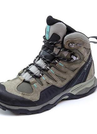 Ботинки salomon conquest gtx. стелька 25, 5 см