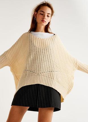 ❤️ крутой воздушный оверсайз свитер от pull&bear - р-р м - но можно даже до хл