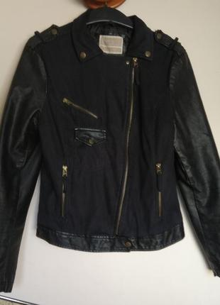 Куртка косуха glo-story осенняя