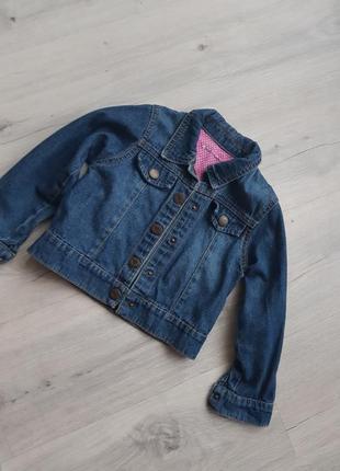 Джинсовая рубашка, куртка на девочку