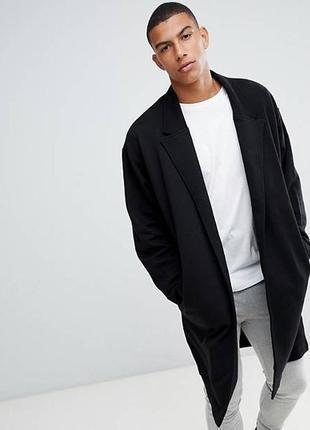 Мужской шерстяной тренч свободный пальто макси брендовое австрия