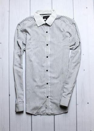 Крутая рубашка в полосочку от t&w.