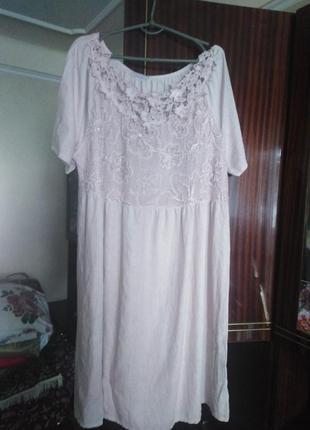Итальянское хлопковое платье