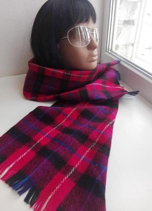 Шикарный теплый шарф 100%кашемир