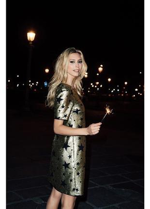 Нарядне плаття sinequanone paris в зірочки паєтки розшите платье в пайетки звёзды