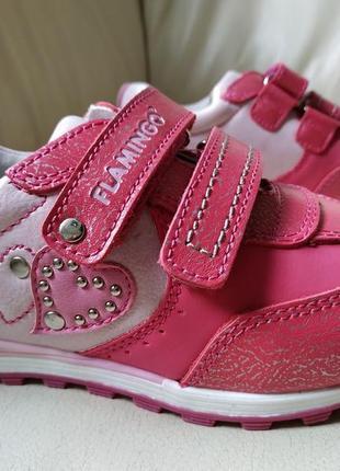 🍀 кожаные кроссовки flamingo (фламинго) 🍀