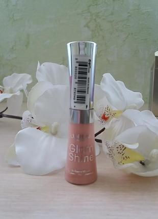 Шикарный блеск для губ l'oreal glam shine travel collection   тон 410