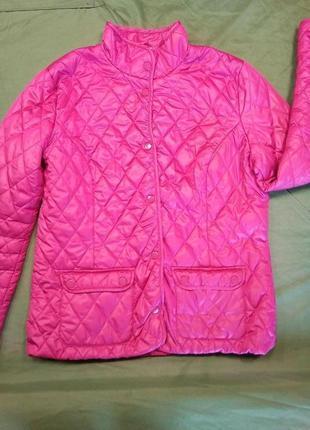 Шикарная базовая куртка стеганная
