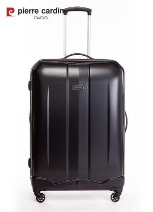 Pierre cardin unisex чемодан большого размера