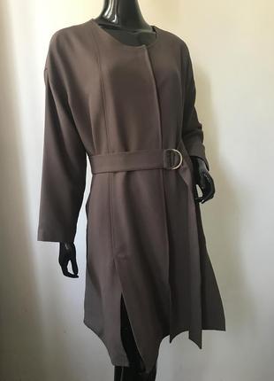 Тренч плащ пальто актуальная модель sienna италия