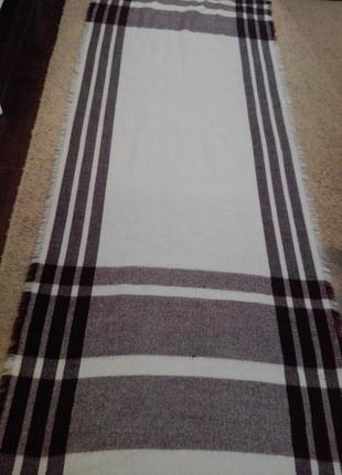 Шикарный теплый шарф палантин платок н
