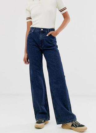 Брендовые женские темно синие коттоновые джинсы cherokee denim bootcut бангладеш этикетка