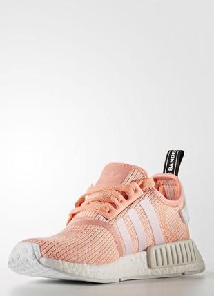 Женские кроссовки adidas originals nmd_r1(артикул:by3034