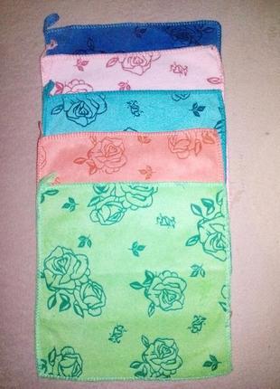 Набор салфеток с петелькой, полотенца