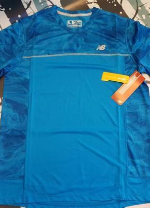 Мужская футболка фирмы nb (нью бэлэнс), размер xl
