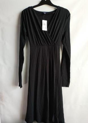 Женское платье вискоза с завышенной талией французского бренда kiabi,  m, сток европа