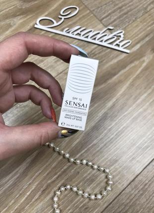 Sensai brightening make-up base идеальная основа под макияж