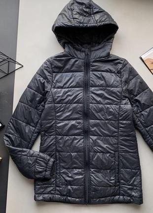 🧥удобная чёрная демисезонная куртка/дутик/пуховик/осенняя куртка/синтепон🧥