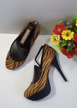 Туфли леопардовые