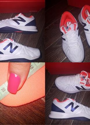 Кожанные кроссовки new balance