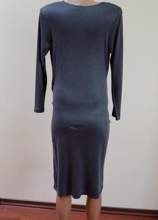 Платье с запахом вискоза