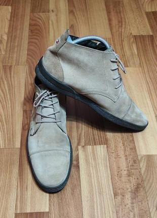 Ботинки дезерты tommy hilfiger (27,5 см)