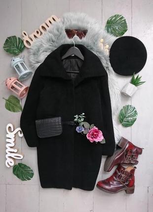 Актуальное шерстяное пальто кокон бойфренд №9max