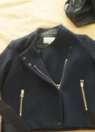 Пальто zara шерсть