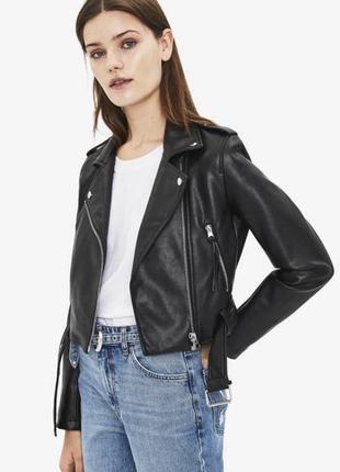 Crop biker jacket куртка байкер bershka zara