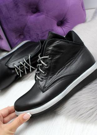 Красивенные ботиночки кожа