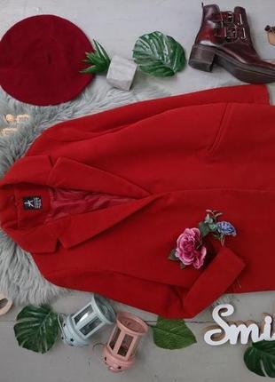 Актуальное пальто пиджак в стиле бойфренд №12max