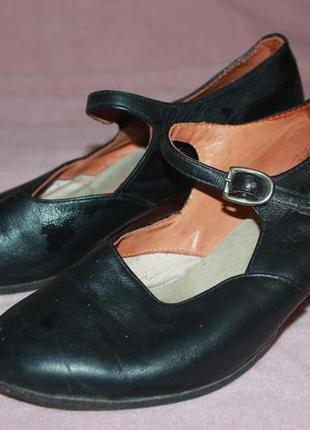 Кожаные туфли для танцев, 37 р, 450 грн