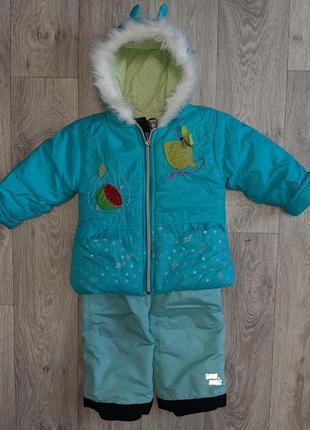 Зимняя курточка + комбез