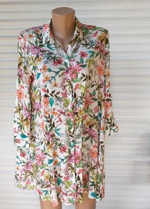 Платье-рубашка, 100% вискоза