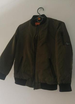 Куртка-бомбер на хлопчика