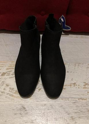 Кожаные ботинки челси 42рр