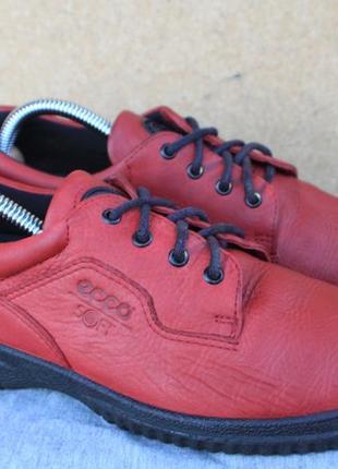 Туфли ecco кожа дания 38р полу ботинки