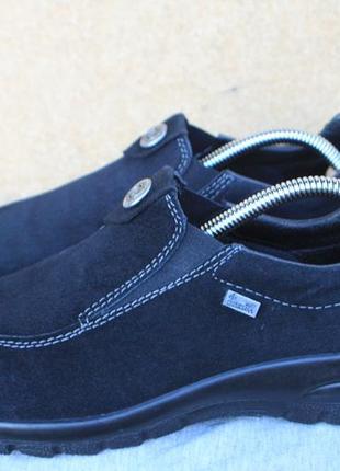 Ботинки rieker непромокаемые замша германия 39р туфли кроссовки