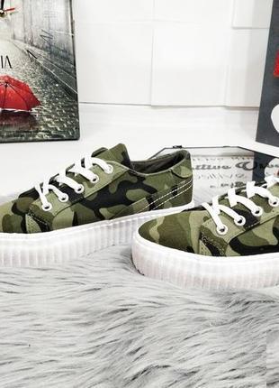 Распродажа! супер стильные кроссовки хаки! 150 грн! 36 размер!