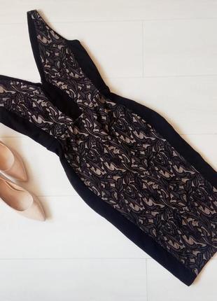 Шикарное вечернее миди платье french connection
