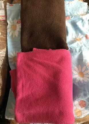 Одеяла флисовые