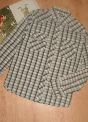 Класна модна брендова рубашка (клітинка) southterm
