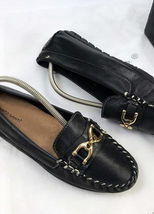 Мокасины туфли топсайдеры женские лоферы брендовые полностью кожаные мягкие