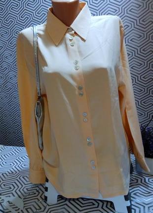 Рeter hahn carat exclusiv collection нежнейшая блуза 100% шёлк